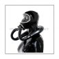 Preview: Deluxe MSA-AUER gasmask-zipperhood-system SMELLBAG-3S with neckrespirator-rubbersmell-bag-set