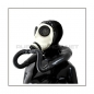 Preview: Deluxe Z56 gasmask-zipperhood-system SMELLBAG-Z with neckrespirator-rubbersmell-bag-set