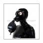 Preview: Deluxe M85 gasmask-zipperhood-system BUBBLE-I with inhaler-set, tube- and rebreathing-bag-set