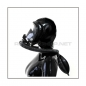 Preview: Deluxe Draeger FUTURA gasmask-zipperhood-system PROTECT-D with ringtube-set and rebreathing-bag