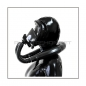 Preview: Deluxe Draeger FUTURA gasmask-zipperhood-system SMELLBAG-D with neckrespirator-rubbersmell-bag-set