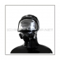 Preview: Deluxe gasmask-zipper-hood HR-2X with panoramic-view - model Auer X-PLORE 2G