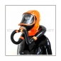 Preview: Deluxe CLIMAX gasmask-zipperhood-system SMELLBAG-X with neckrespirator-rubbersmell-bag-set