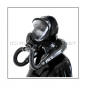 Preview: Deluxe Draeger ELITE gasmask-zipperhood-system SMELLBAG-E with neckrespirator-rubbersmell-bag-set