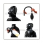 Preview: Deluxe GP7 gasmask-zipperhood-system BUBBLE-G with inhaler-set, tube- and rebreathing-bag-set
