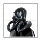 Preview: Deluxe PMK-2TA gasmask-zipperhood-system SMELLBAG-2P with neckrespirator-rubbersmell-bag-set