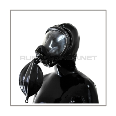 Deluxe Draeger FUTURA gasmask-zipperhood-system HEAVY-D with rebreathing-bag-set
