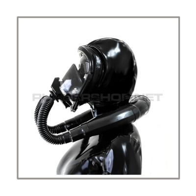 Deluxe Draeger FUTURA gasmask-zipperhood-system SMELLBAG-D with neckrespirator-rubbersmell-bag-set
