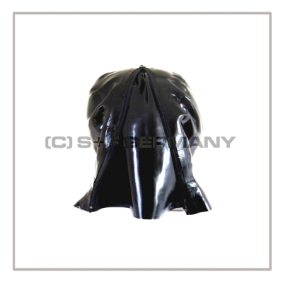 Deluxe PMK gasmask-zipperhood-system SMELLBAG-2P with neckrespirator-rubbersmell-bag-set