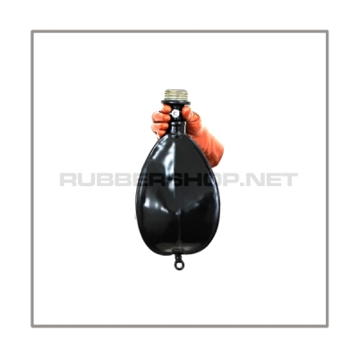 Rebreathing bag RB-G3 with gasmaskthread-port, breathingreduction-adaptor and 3 litre volume