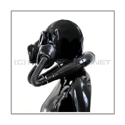Deluxe PBF gasmask-zipperhood-system SMELLBAG-2B with neckrespirator-rubbersmell-bag-set
