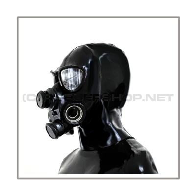 Deluxe PMK-2TA gasmask-zipperhood-system SMELLBAG-2P with neckrespirator-rubbersmell-bag-set