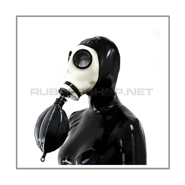 Deluxe Z56 gasmask-zipperhood-system HEAVY-Z with rebreathing-bag-set