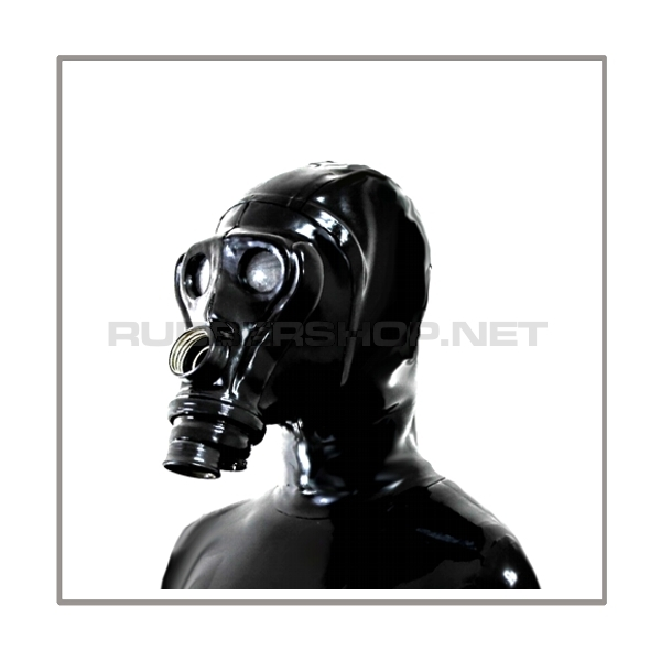 Deluxe gasmask-zipper-hood HR-A2 - special design - model SIMIAN